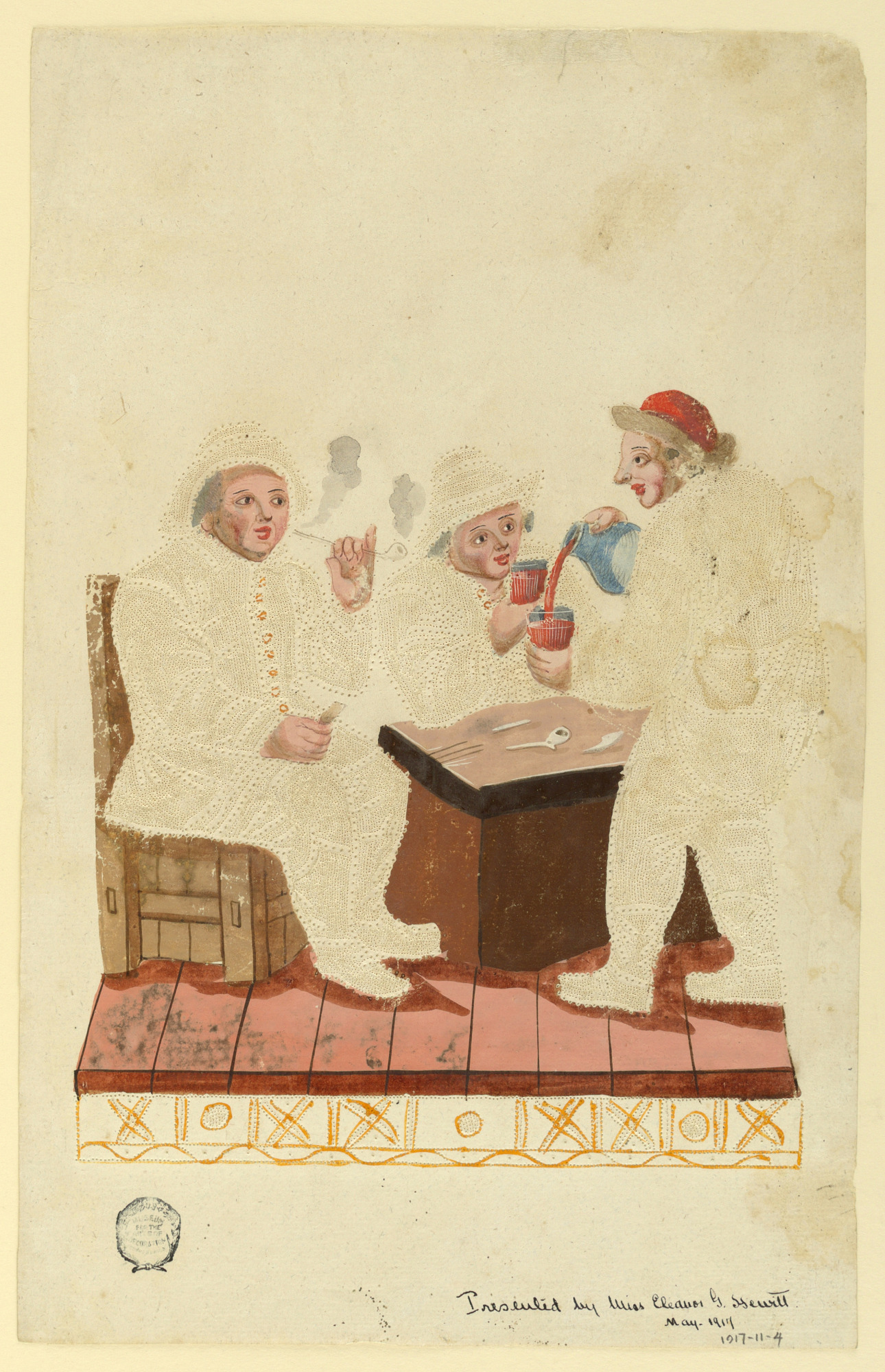 Peasants in a Cabaret