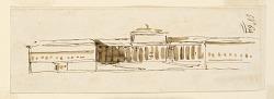 Elevation of a palace