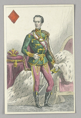 Franz Joseph, Emperor of Austria, King of Diamonds from Set of