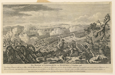 The Battle of Lowoschutz in Bohemia