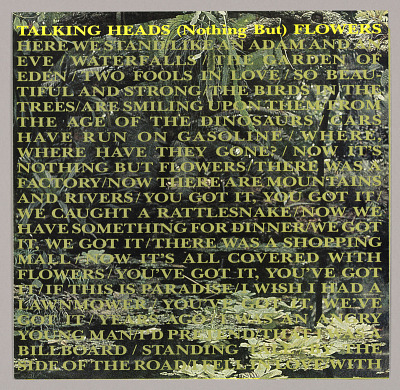 Talking Heads: (Nothing But) Flowers