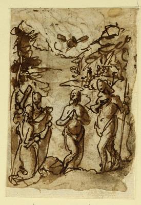 Baptism of Christ and Pieta