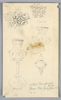Sketches of Decorative Details from Cairo