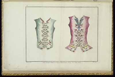 Design for Two Waistcoats