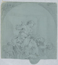 Design for Allegory of Sculpture
