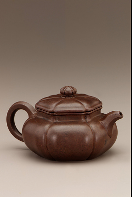 Yixing ware fluted Teapot