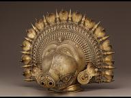Bhuta mask of the deity Panjurli