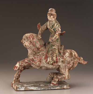Wooden Horse and Rider