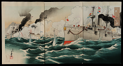 Naval Battle of the Russo-Japanese War at Chinmulpo, 9 February 1904