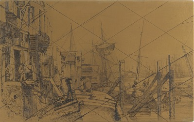Etching plate: Limehouse