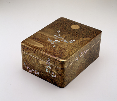 Japanese Lacquer Imperial Presentation Box