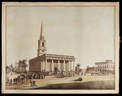 <em>St. John's Church</em> from <em>Views of Calcutta</em>