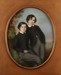 Portrait of J. McNeill Whistler and His Brother William (Dr. William Whistler)