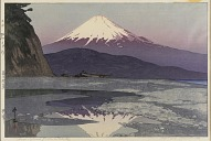 <i>Fujiyama from Okitsu</i>, from the series, <i>Ten Views of Mount Fuji</i>