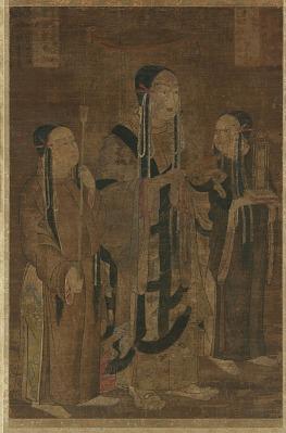 Prince Shotoku (Shotoku Taishi) and attendants