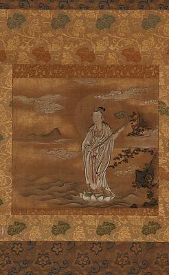 Bodhisattva crossing the sea
