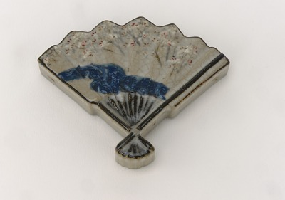 Incense container with design of Cherry River