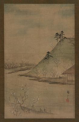 Landscape of the season: spring