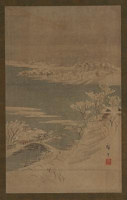 Landscape of the season: winter