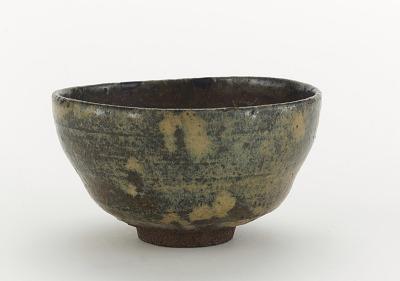 Shodai ware rice bowl, used as tea bowl