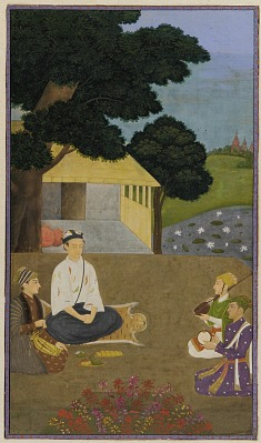 Prince Dara Shikoh visiting the ascetic Kamal