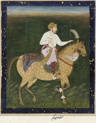 Equestrian Portrait of Jahangir