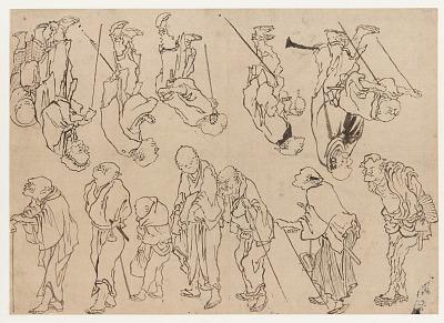 Studies of lame pilgrims