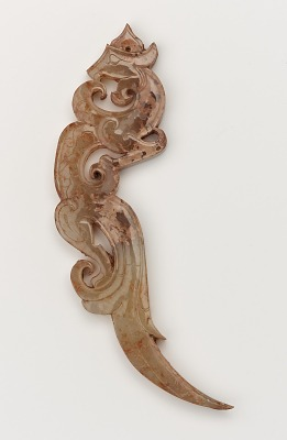 Pendant in form of a feline-dragon