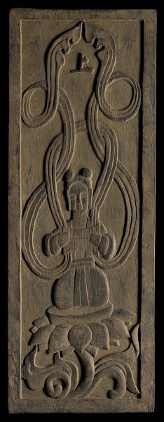 Image for Buddhist apsara playing music