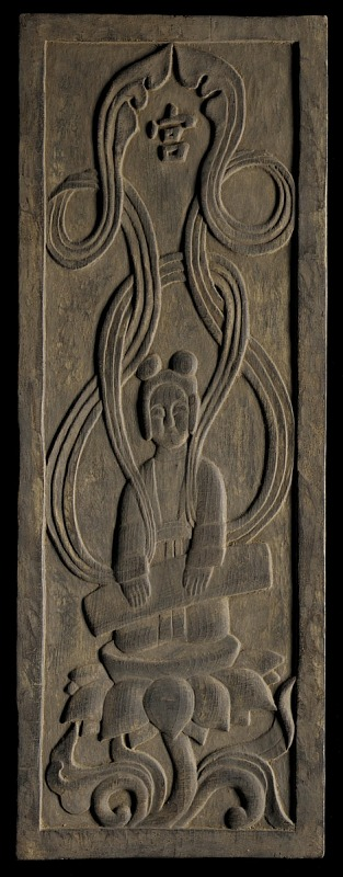 Image for Buddhist apsara playing a zither