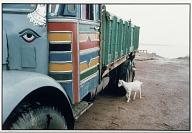 Truck, Goat and Boy, Patna, 1988