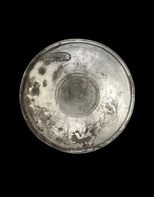 Bowl with interior medallion