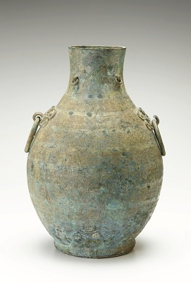 Ritual wine container (<em>Hu</em>)