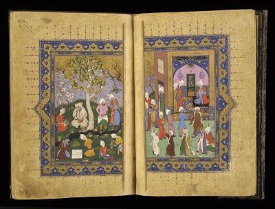 <em>Mathnavi-ye ma'navi</em> (Rhyming couplets of profound spriritual meaning) by Rumi (d.1273)