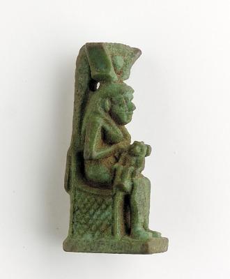 Amulet of Isis/Hathor and Horus