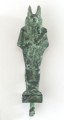 Figure of Anubis