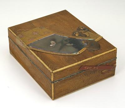 Incense box and tray