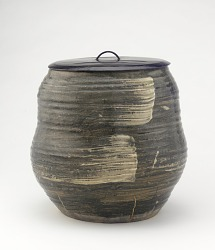 Akahada ware water jar