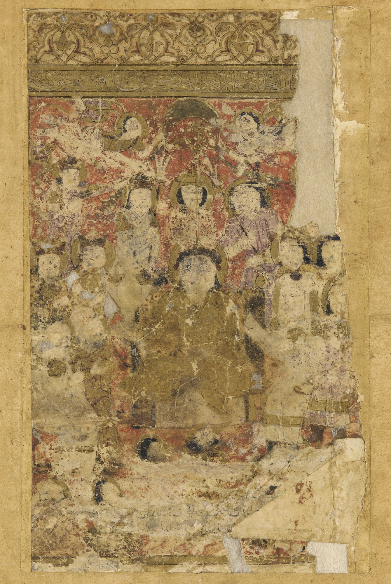 First volume of a Tarikhnama (Book of history) by Bal'ami (died ca. 992-997)