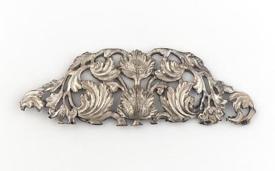 Silver rnament for applique