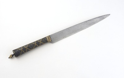 Knife made for Jahangir, partially of meteoric iron