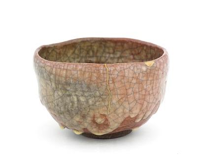 Korakuen ware tea bowl