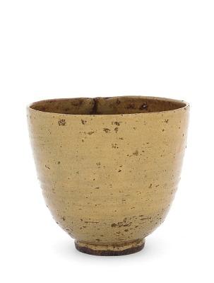 Tea bowl, possibly Hagi ware