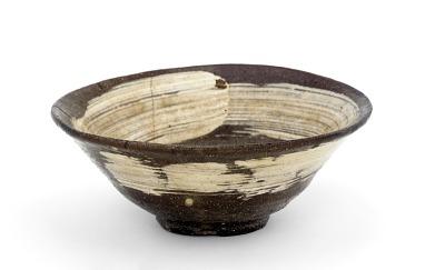 Kyoto ware tea bowl
