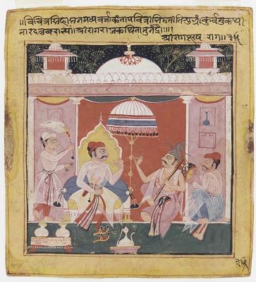 <em>Shri Raga</em> from the <em>Chawand Ragamala</em>