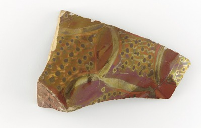 Fragment of a large dish