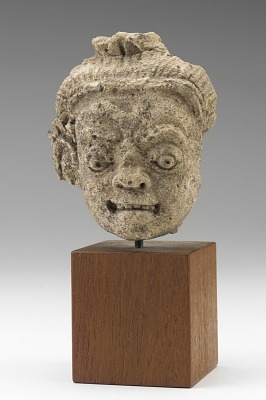 Head of a yaksa
