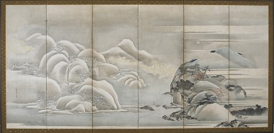 Landscape: two of the four seasons; autumn and winter