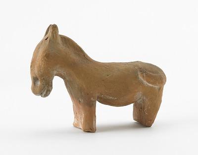 Spirit house figure of a horse