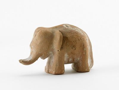 Spirit house figure of an elephant